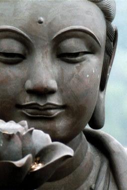 Будда с лотосом