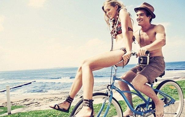 Велосипедная любовь