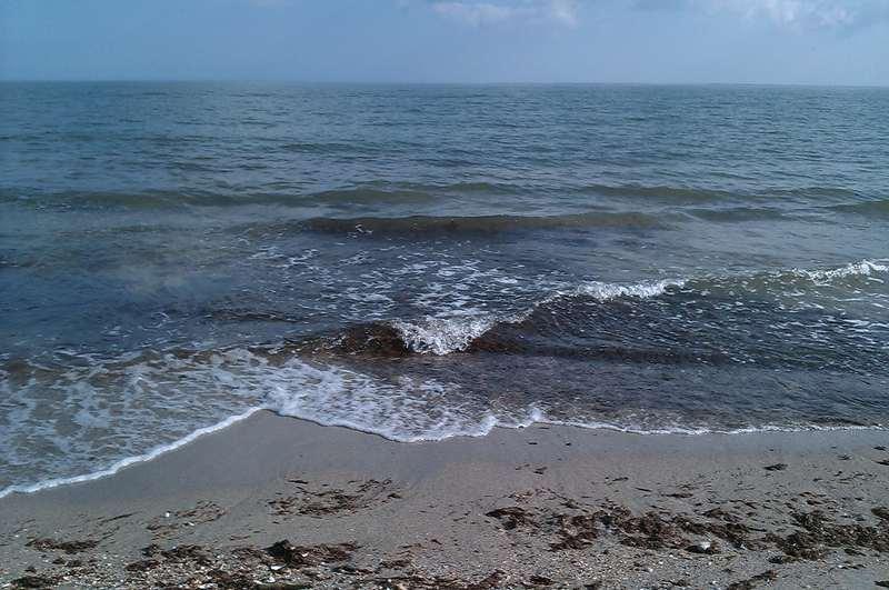 Чёрное море в октябре