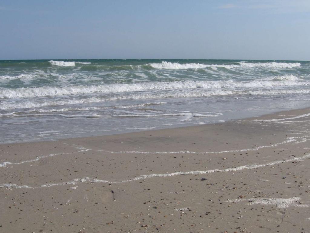 Чёрное море в мае