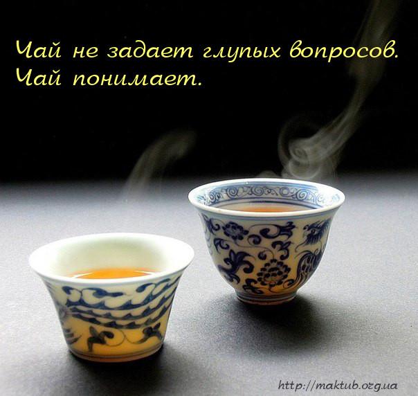 Чай и вопросы