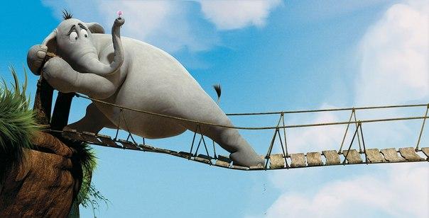Слон на мосту