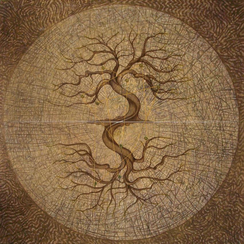 Зеркальное дерево