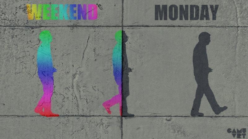 Выходной и понедельник