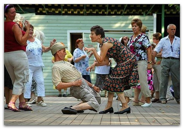 Вдохновляющий танец