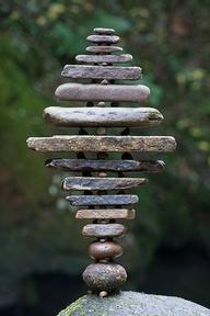 Баллансирующие камни