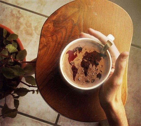 Мир в чашке кофе