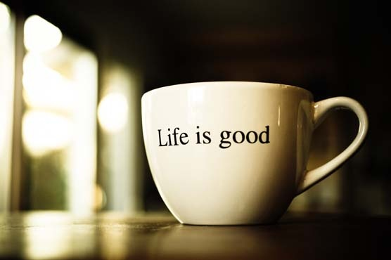 """Чашка """"Жизнь прекрасна"""""""