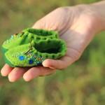 Зелёные башмачки