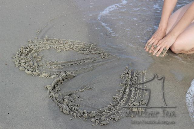 Сердце на песке