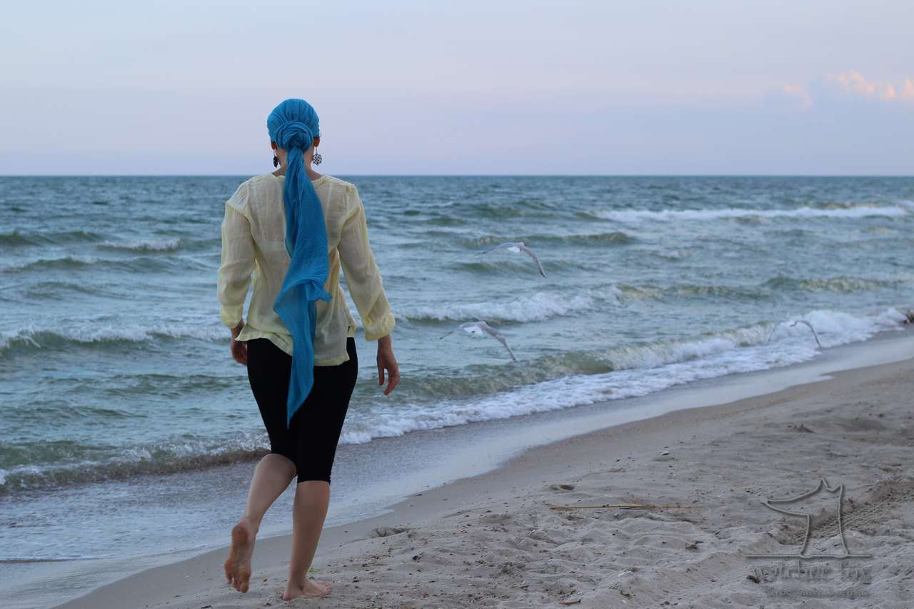Прогулка у моря в Рассейке