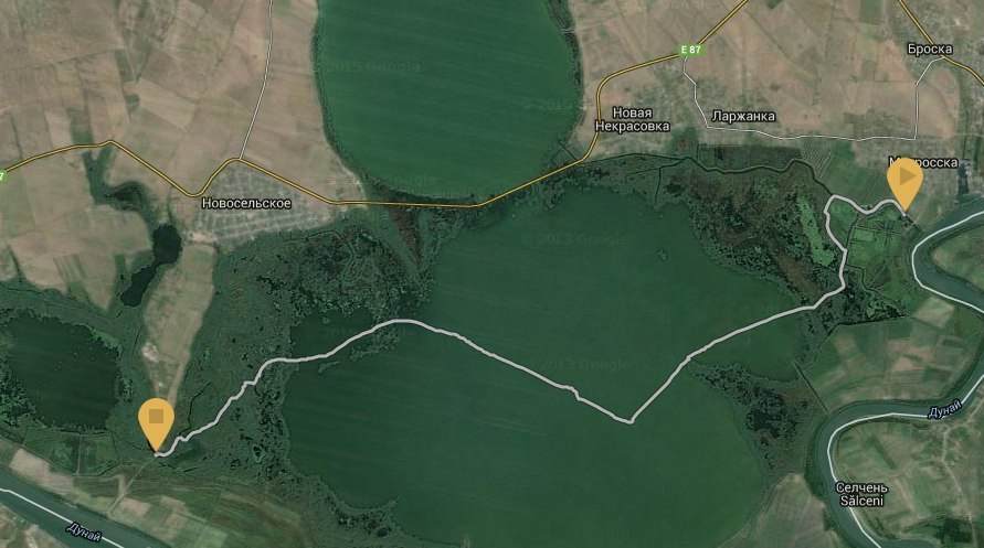 "Карта маршрута ""Дурнэ Турнэ"""