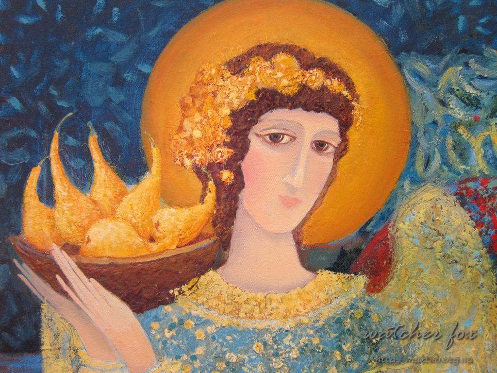 Фрагмент картины Екатерины Лемешевой