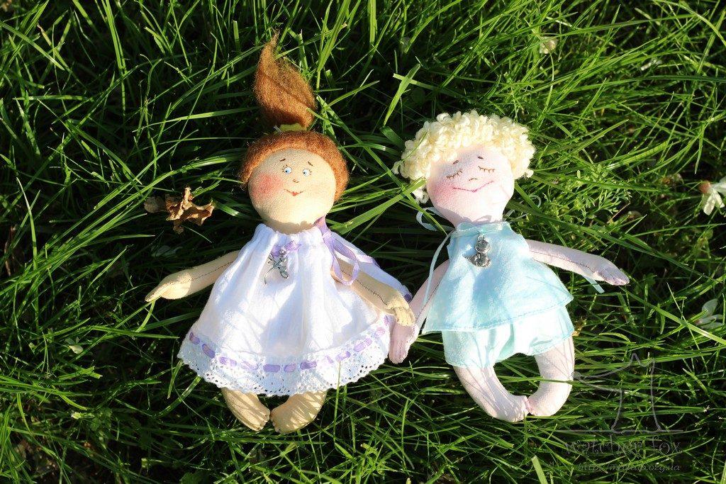Куклы мальчика и девочки