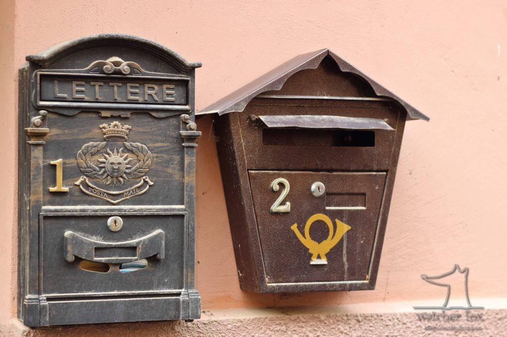 Два почтовых ящика