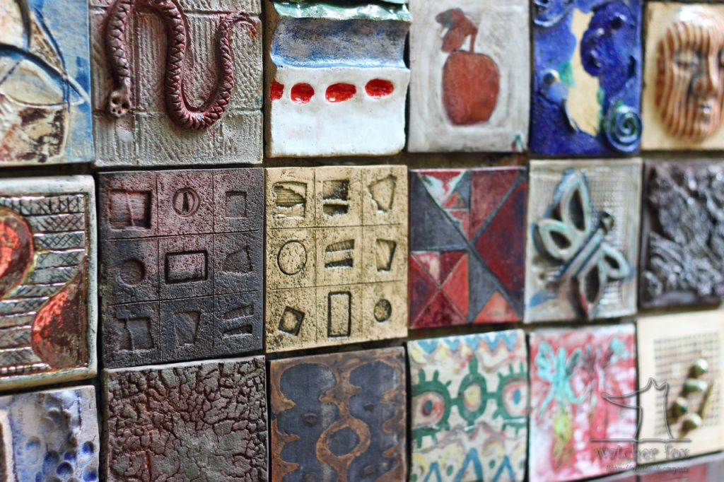 Арт из керамической плитки